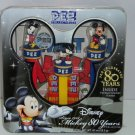 Disney Pez Celebrates 80 Years Mickey Mouse Limited Edtion Poster Tin MIB 2007