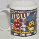 M&M M&M's World Coffee Mug Cup Candy Poker Card Show Girl Ceramic Las Vegas 2005