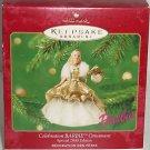 Celebration Barbie Ornament Doll Hallmark 2000 MIB Christmas Vintage \