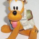 Disney Pluto Figurine Backpack Hat Dog