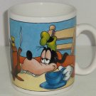 Disney Goofy Coffee Mug Cup Giant Coffee Pot Blue White