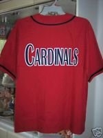 St Louis Cardinals Jersey Red Baseball Russell  MLB Size Large