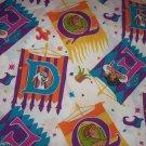 Disney Esmeralda Hunchback of Notre Dame Twin Flat Sheet Craft Sewing Fabric