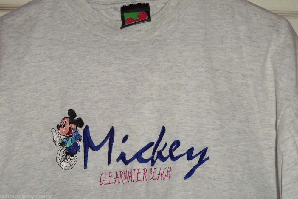 Disney Mickey Unlimited  T-Shirt  Clearwater Beach  Florida T Shirt Size XL