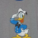 Disney Store Donald Duck T-Shirt Blue Gray Size Large L