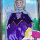 Disney Princess Aurora Porcelain Doll Brass Key Sleeping Beatuy Royal Holiday Ed