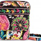 Disney Vera Bradley Midnight with Mickey Mini Hipster Purse Black Wallet New