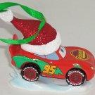 Disney Cars Rust-eze Ornament Christmas Tree Holiday Theme Park Pixar Santa Hat