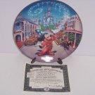 Walt Disney World Mickey Mouse Main Street USA 25th Anniversary Collector Plate