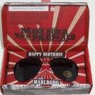 Marlboro Sunglasses Shades Storage Pouch Aviator Promo Happy Birthday Gift NIB