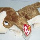 Tracker Dog Ty Beanie Baby Babies 1998
