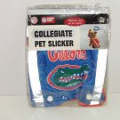 Florida Gators Pet Slicker Dog Rain Coat NCAA Reflective Tape Blue College Size XS
