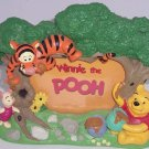 Walt Disney World Picture Frame Winnie Pooh Tigger Piglet Photo Theme Parks