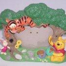 Walt Disney World Frame Winnie Pooh Tigger Piglet Picture Photo Trees Hunny Pot