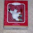 Hallmark Coca Cola Polar Bear Snowboard Coke Ornament Vintage 2001 Christmas