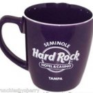 Seminole Hard Rock Coffee Mug Hotel & Casino Dark Purple Cup Gambling