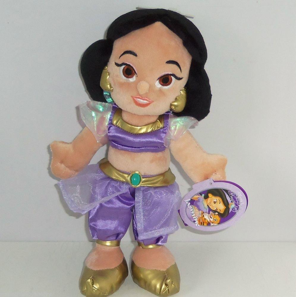 Disney Princess Little Jasmine Plush Doll Fairy Tales Baby Theme Parks