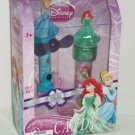 Disney Cinderella Ariel Little Mermaid Candy Fan Sticker Stamper