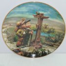 Hummel Collector Plate March A Windy Crossroad Calendar Collection M I Danbury