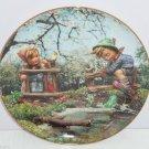 Hummel Collector Plate April Signs Spring Calendar Collection M I Danbury Mint
