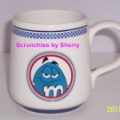 M&M's Candy Blue Guy Ceramic Coffee Tea Cup Mug  M&M