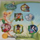 Disney Tinker Bell Fairies 6 Pin Set  World Disneyland Theme Parks New