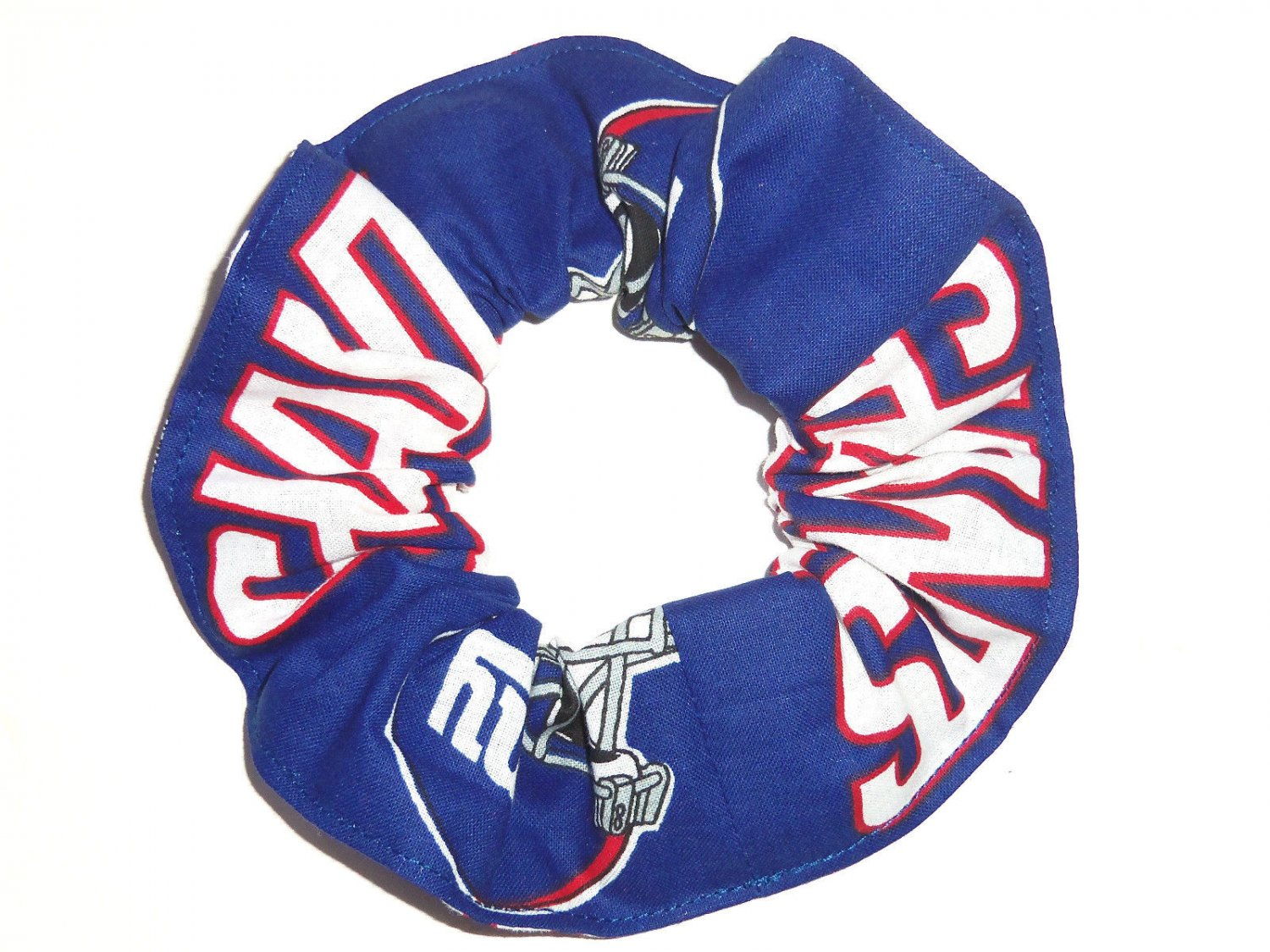 New York Giants Fabric Hair Scrunchie NFL
