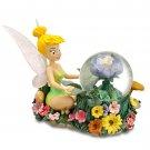 Disney Tinker Bell Garden Snowglobe Flower Floral Theme Parks New