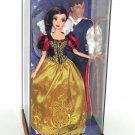Disney Fairytale Princess Snow White Prince Designer Doll Couple LE 6000 New