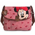 Disney Store Minnie Mouse Diaper Bag Babymel Red New