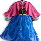 Disney Store Frozen Anna Costume Fancy Dress Halloween 2013 Original Version Size 5-6