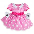 Disney Store Minnie Mouse Baby Costume Dress with Gloves 3-6 Months