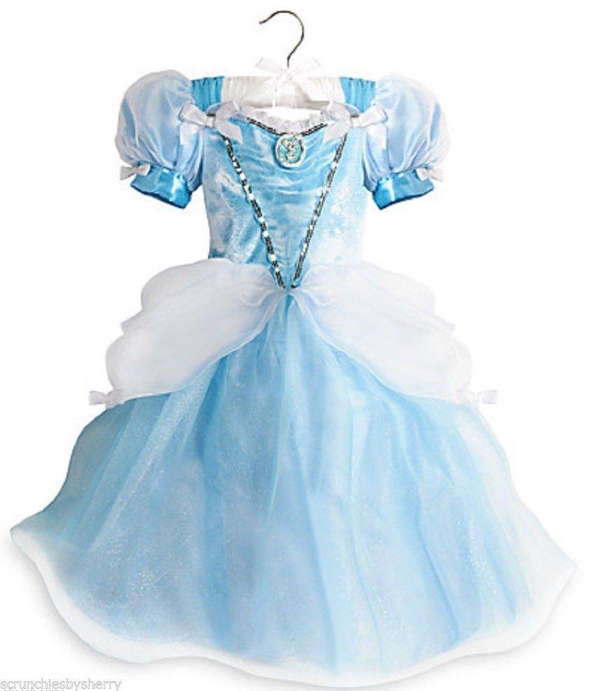 Disney Store Cinderella Light Up Costume Fancy Dress