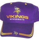 Minnesota Vikings Hat Purple Cap NFL Football Game Day New