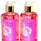Disney Store Princess Body Wash Shower Bath 8.4 oz Lot of 2