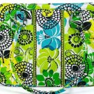 Vera Bradley Frame Bag Limes Up Handbag Purse Lime Green Yellow