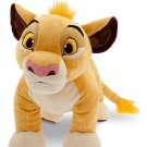 "Disney Store Simba Large Plush Toy Lion King 18""  New"