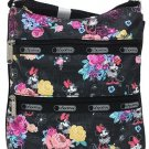 Disney Minnie Mouse Kylie Bag by LeSportsac Pink Floral Handbag