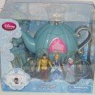 Disney Store Cinderella Tea Set Play Prince Charming Teapot Fairy Godmother New