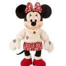 Disney Store Minnie Mouse Christmas Plush Toy Exclusive 2015 Limited New