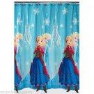 Disney Frozen Fabric Shower Curtain Anna Elsa