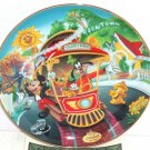 Disneyland Collector Plate 40th Anniversary Mickeys Toontown Bradford Exchange