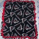 Atlanta Falcons Black Fleece Baby Pet Dog Blanket