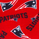 New England Patriots Red Fleece Fleece Baby Pet Dog Blanket