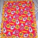 Kansas City Chiefs Toss Fleece Baby Pet Dog Blanket