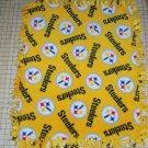Pittsburgh Steelers Gold  Fleece Baby Pet Dog Blanket