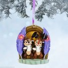 Disney Store Sketchbook Christmas Ornament Chip and Dale 2014
