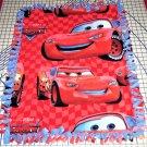 "Disney Fleece Baby Blanket  Cars Red Pet Lap 30"" x 24""  New"