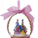 Disney Christmas Glass Ornament Cinderella Tiana Snow White Rapunzel Theme Park