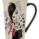 Disney Store 101 Dalmatians Cruella De Vil Coffee Mug  2014 New